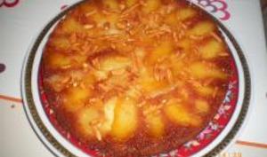 Gâteau aux Amandes et Pommes Caramélisées