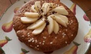 Gâteau aux poires et son petit goût de pralin