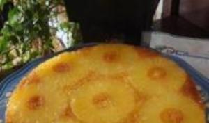 Gâteau Caramélisé à l'Ananas