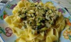 Pâtes Souabes aux Courgettes et Pignons de Pin