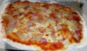 Pizza Poire-Gorgonzola et sa Pâte au Levain