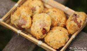 Cookies au bacon et à la noisette