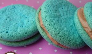 Macarons bleu lagon