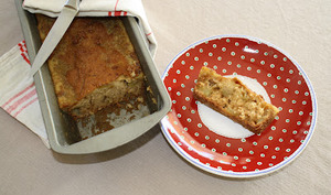 Cake aux pommes et Spéculoos