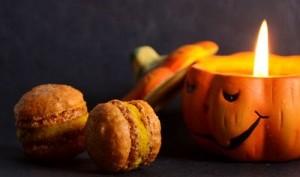 Macaron potimarron noisette