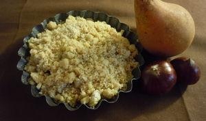 crumbles pommes-poires-châtaignes