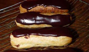 Mini éclairs chocolat-noisette