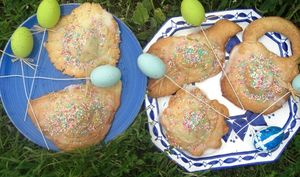 Biscuits surprises de Pâques