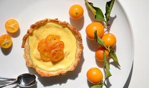 Tartelettes fondantes aux kumquats et au gingembre
