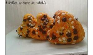 Mandises coeur de Nutella