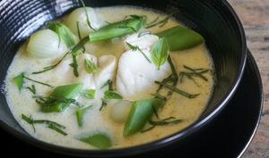 Curry vert de lotte