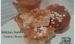 Brioches Pommes-Caramel Beurre Salé