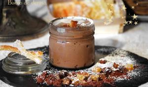 Mousse mascarpone au chocolat au lait et orange confite