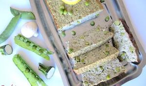 Terrine de printemps au petits pois frais