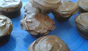 Muffins fondants mascarpone et chocolat