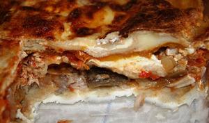 Lasagnes ratatouille & poulet