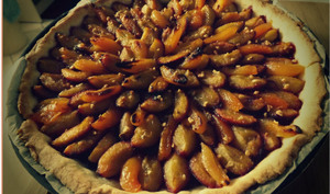 Tarte prunes abricots