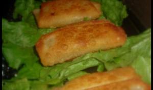 Brick au fromage, ail et persil