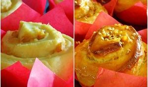 Brioches aux pommes et gingembre