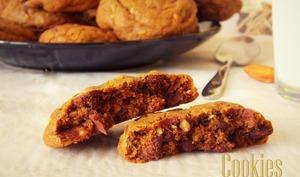 Cookies moka et pépites de chocolat