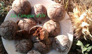 Petits biscuits au chocolat noir de Modica