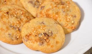 Cookies aux chunks chocolat et éclats de nougatine