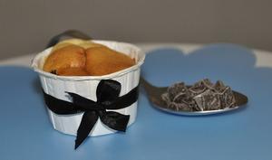 Muffins aux pépites de chocolat et cardamone