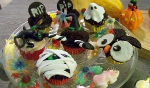 Cup Cakes d'Halloween