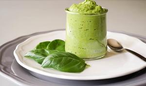 Pesto rouge et pesto vert