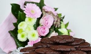 Cookies double chocolat coeur moelleux
