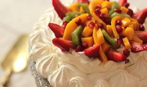 Pavlova aux fruits frais