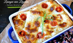 Lasagne de légumes à la provençale