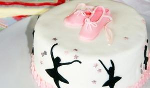 Ballerina cake Chocolat blanc framboises