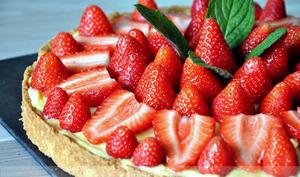 Des tartes aux fraises au goût de reviens-y
