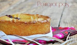 Gâteaux Basque à la Confiture de Cerises