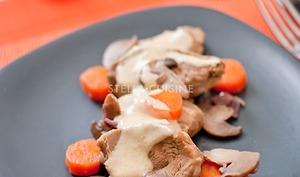 Blanquette de veau aux champignons