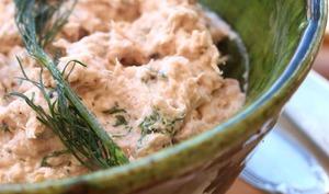 Rillettes de thon au wasabi