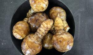 Ragout de champignons et topinambours