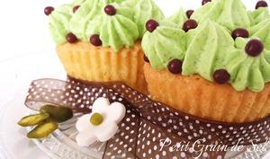 Cupcakes à la pistache
