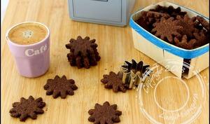 Sablés diététiques au chocolat