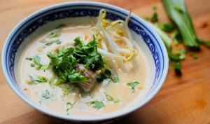 Soupe Coco Curry Poulet A La Thaïe