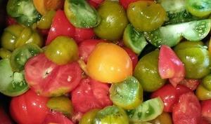 Pulpe ou purée de tomates maison