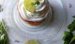 Tartare de saumon avocat et sa chantilly au citron vert