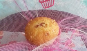 Muffin Mûres et Pralin