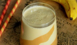 Creamy Banana et Peanut Butter Smoothie