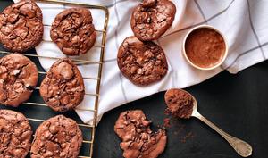Cookies au chocolat et noix de pécan