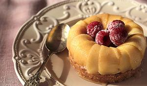 Mini cheesecake express aux pommes