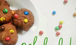 Cookies aux m&m's Crispy
