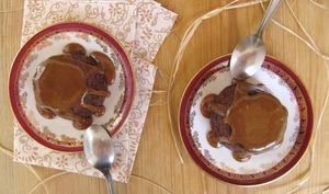 Pudding aux dattes et sauce caramel