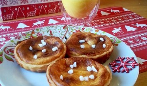 Tartelettes au lait de poule